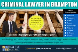 Criminal lawyer in Brampton