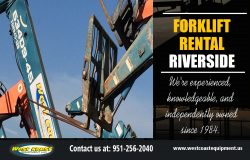 Forklift Rental Riverside