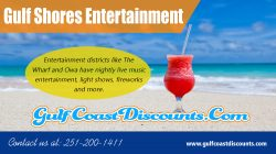 Gulf Shores Entertainment | Call 251 200 1411 | gulfcoastdiscounts.com