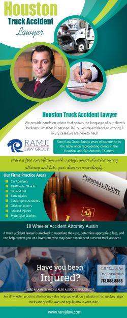 Houston Truck Accident Lawyer|https://www.ramjilaw.com/