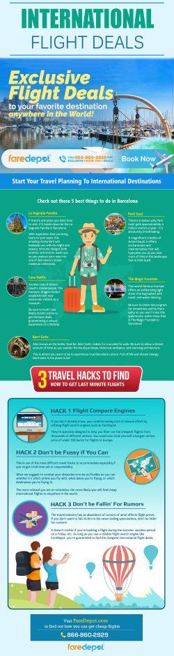 International Flight Deals | 8668602929 | faredepot.com