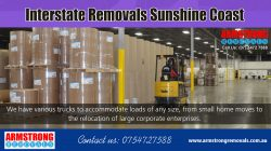 Interstate Removals Sunshine Coast | Call – 0754727588 | armstrongremovals.com.au