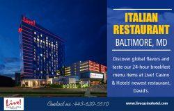 Italian restaurant Baltimore MD USA