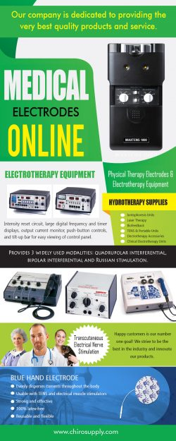 Medical Electrodes Online | 8775639660 | chirosupply.com