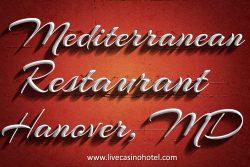 Mediterranean restaurant Washington DC