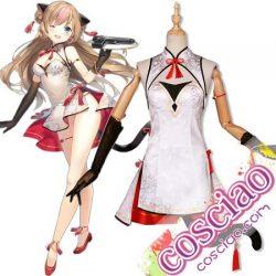 少女前線 Gr Mk23 コスプレ衣装 ミツバチと花 ドルフロ スキン衣装 チャイナドレス 蜂糖花