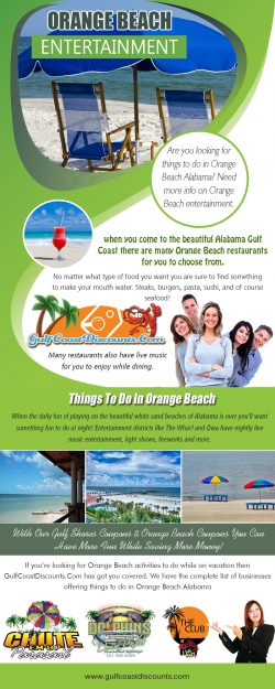 Orange Beach Entertainment | Call 251 200 1411 | gulfcoastdiscounts.com