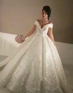 Elegante Brautkleider Prinzessin Pailletten Hochzeitskleider Günstig Online