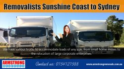 Removalists Sunshine Coast to Sydney | Call – 0754727588 | armstrongremovals.com.au