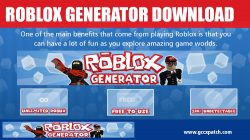 Roblox Generator Download