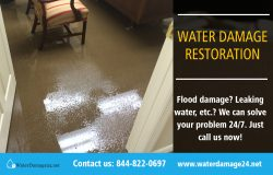 Water Damage Restoration | Call – 855-202-8632 | waterdamage24.net