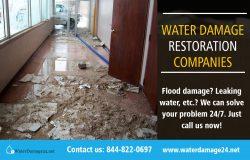 Water Damage Restoration Companies | Call – 855-202-8632 | waterdamage24.net