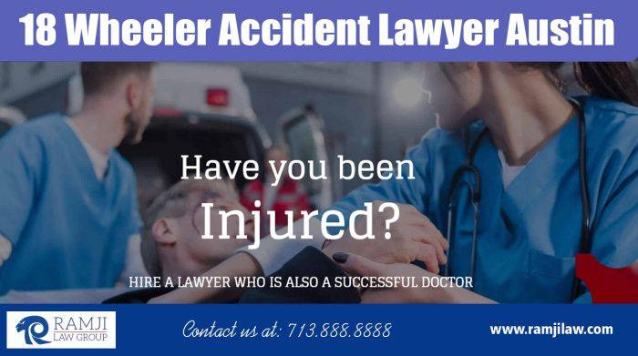 18 Wheeler Accident Lawyer Austin|https://www.ramjilaw.com/