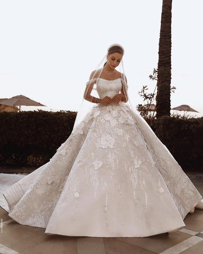 Fashion Weiß Brautkleid A Linie Spitze Hochzeitskleider Günstig Online