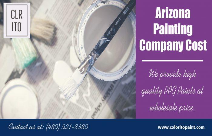 Arizona Painting Company Cost