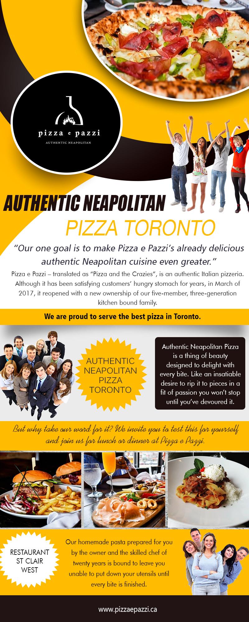 Authentic Neapolitan Pizza Toronto