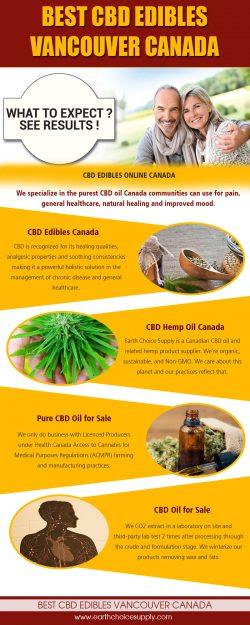 Best CBD Edibles Vancouver Canada