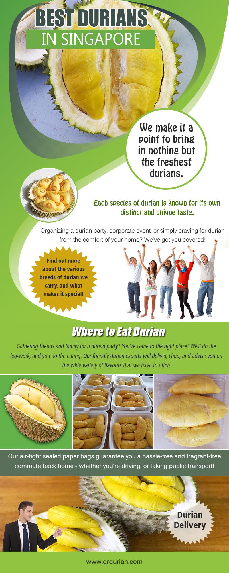 Best Durians in Singapore