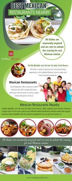 Best Mexican Restaurants Nearby