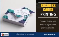 Business Cards Printing | Call – 01 426 4844 | alphaprint.ie