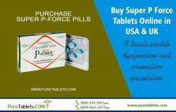 Buy Super P Force tablets Online in USA & UK | puretablets.com
