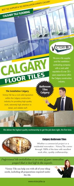 Discount Calgary Tile is easy enough to find online – all you need to do is run a search f ...