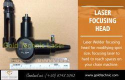 Laser focusing head