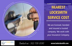 Nearest Locksmith Service Cost