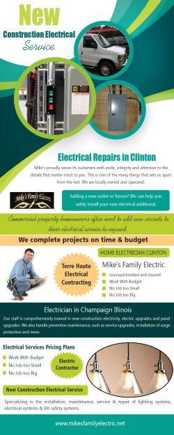 New construction electrical service