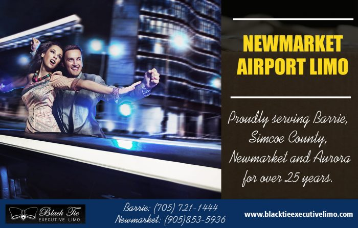 Newmarket Airport Limo | Call – 705-721-1444 | blacktieexecutivelimo.com