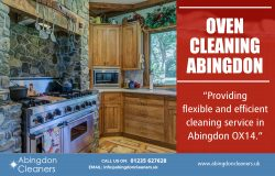 Oven Cleaning Abingdon | Call – 01235 627628 | www.abingdoncleaners.uk