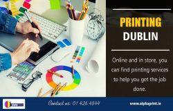 Printing Dublin | Call – 01 426 4844 | alphaprint.ie