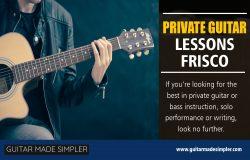 Private Guitar Lessons Frisco
