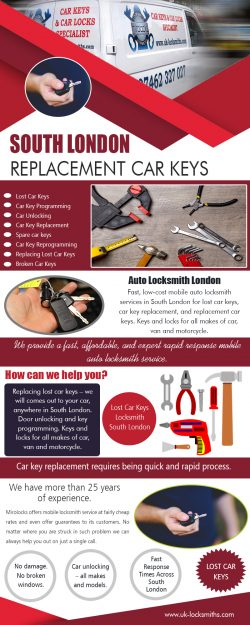 South London Car Keys Replacement Cost