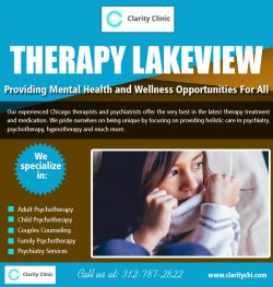 Therapy Lakeview | claritychi.com | Call – 312-787-2822