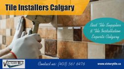 Tile Installers Calgary | 4035616476 |victorytile.ca