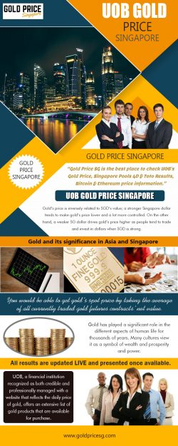 UOB Gold Price In Singapore