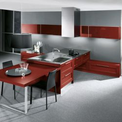 Stainless Steel Kitchen Cabinets Take Advantage Of Appearance And Cleanliness