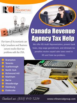 Canada Revenue Agency Tax Help