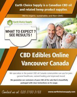 CBD Edibles Online Vancouver Canada | earthchoicesupply.com