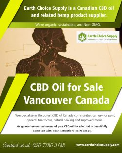 CBD Oil for Sale Vancouver Canada | earthchoicesupply.com