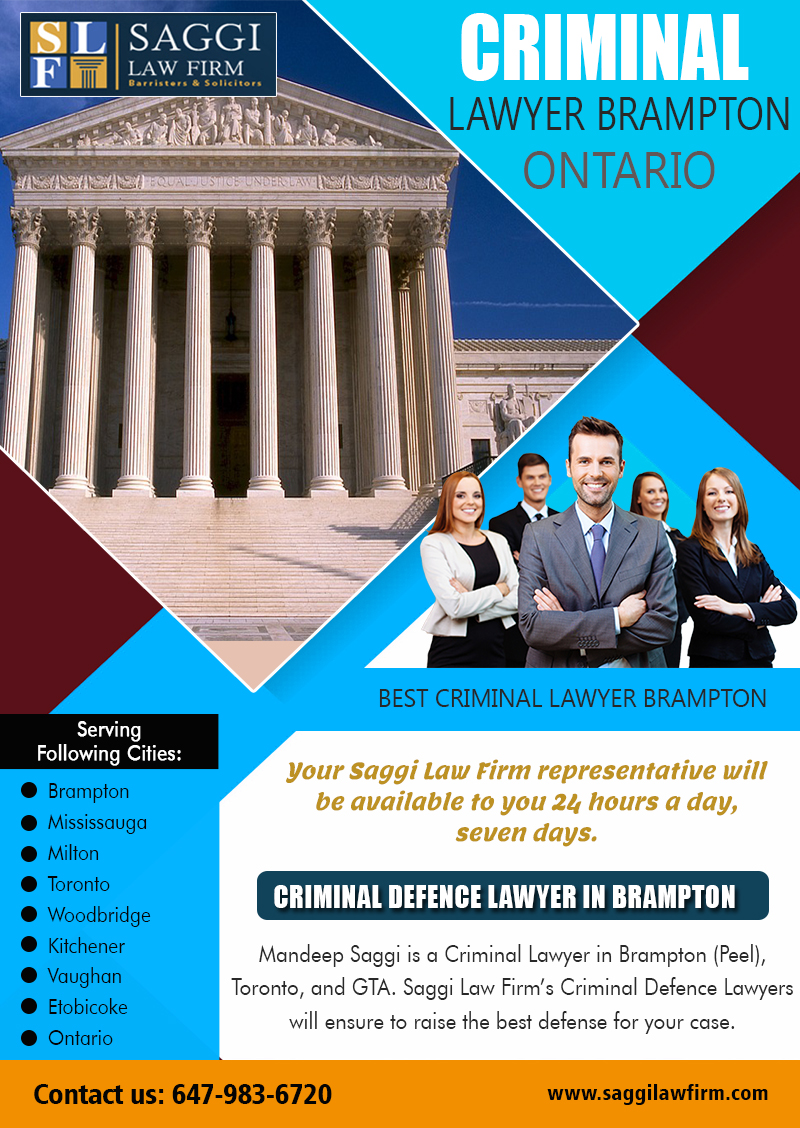 Criminal Lawyer Brampton Ontario