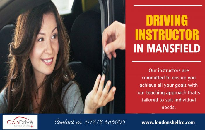 Driving Instructor in Mansfield