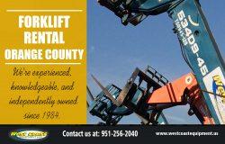 Forklift Rental in Orange County