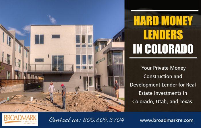 Hard Money Lenders Colorado