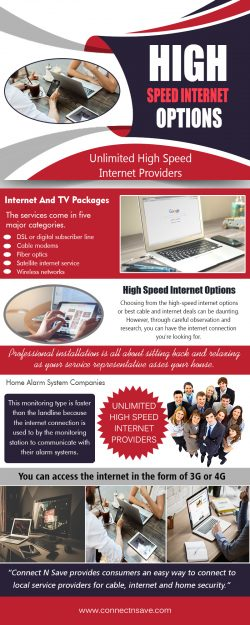 High Speed Internet Options
