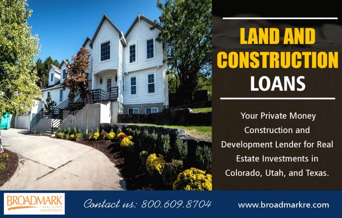 Land and Construction Loans