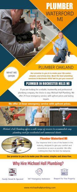 Plumber in Rochester Hills MI   Call – 586-298-7285   michaelhallplumbing.com