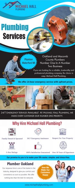 Plumber Troy MI   Call – 586-298-7285   michaelhallplumbing.com