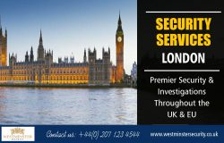 Security Services in London